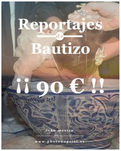 Reportaje de bautizo