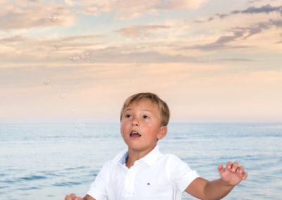infantil familia mar